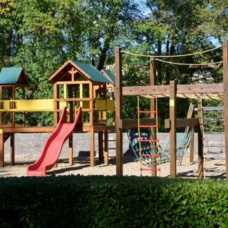 L'espace de jeux du parc Paulhan