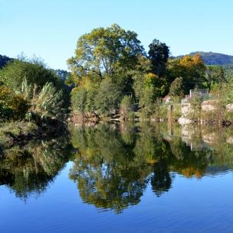 le bassin au barrage du Pont vieux