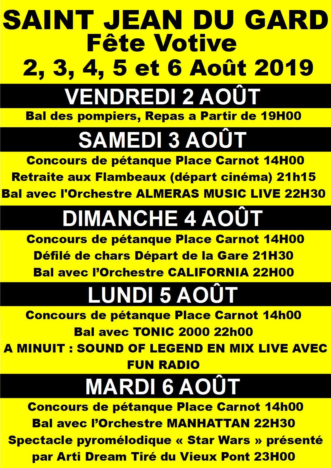 Calendrier Fete Votive 2019 Gard.Fetes Votives Dans Le Gard Fetes De Village 2019 Nemausus Com